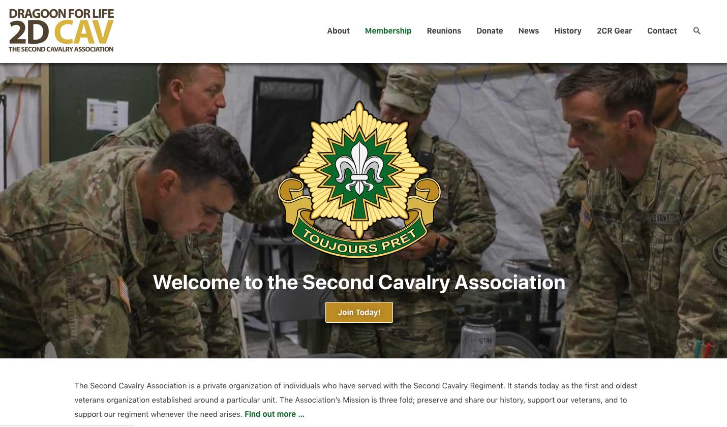 The Second Cavalry Association
